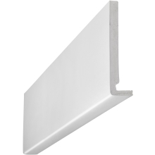 Eavemaster Plain Fascia White 18 x 225 x 5000mm