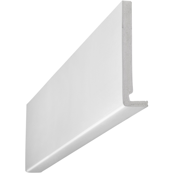 Eavemaster Plain Fascia White 18 x 300 x 5000mm