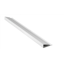 Eavemaster Single Channel White 5000mm