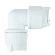 Elbow White 28mm
