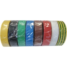 Electricians Tape 19mm x 33m Green/Yellow