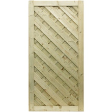 Elite Chevron Gate 0.9 x 1.8m