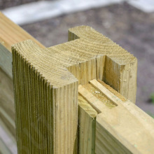 Elite Grooved Fence Panel H-Post