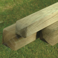 Elite Grooved Fence Panel Post