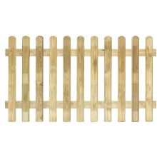 Elite Profiled Picket Fence Panel