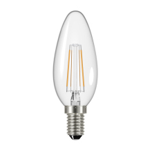 Energizer S9030 470LM E14 Candle Filament LED Lamp Warm White