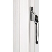 ERA Maxim PVCU Window Handle Chrome 3222-37-2