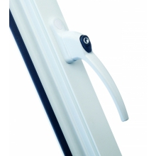 ERA Maxim PVCU Window Handle White 3222-01-2