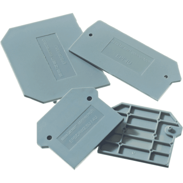 Europa CTSEP4U 35mm End Plate For Din Term