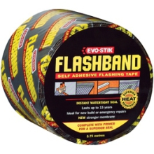 Evo-Stik 3.75mtr Flashband Grey With Primer