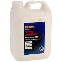 Evo-Stik Resin Weatherproof Wood Adhesive 5L