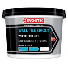 Evo-Stik White For Life Powder Grout - 3kg