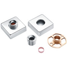 Exp Square Shower Bar Mixer Easy Fit Kit Pair