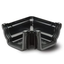 External Gutter Angle 90 Black 117mm
