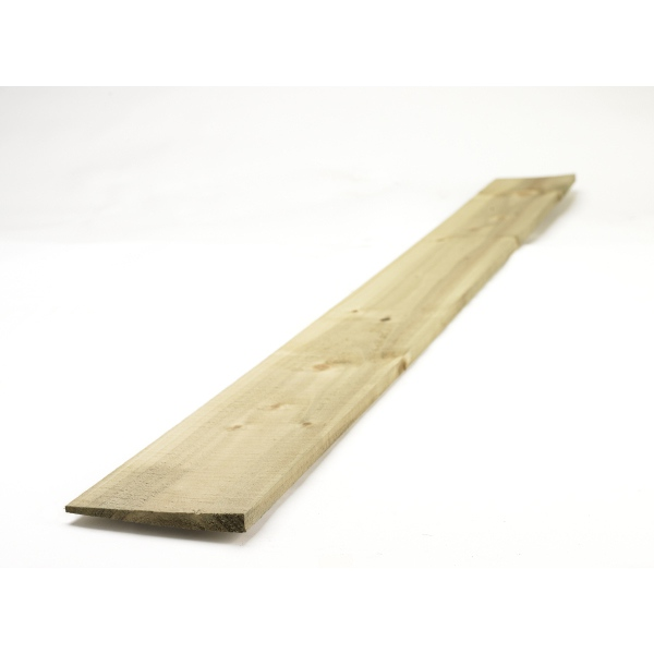 Featheredge Board Green 22x125mm x1.65m