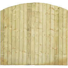 Featheredge Dome Fence Panel 1.73m