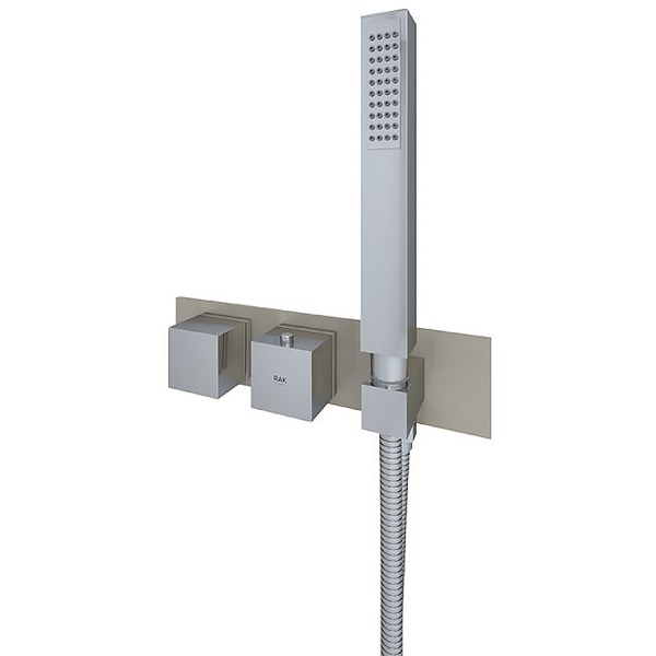 Feeling Square Hori Dual Therm Concealed Shower Valve Cap