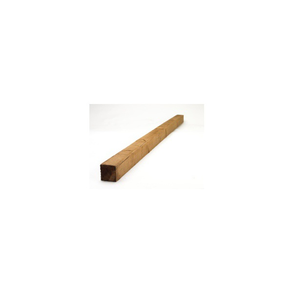 Fence Post Treated Brown 75 x 75 x 3000mm