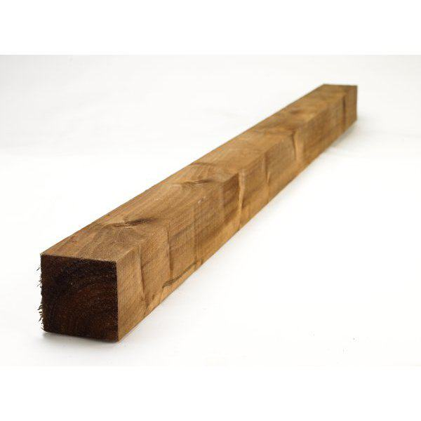 Fence Post Treated Brown 100 x 100 x 1800mm