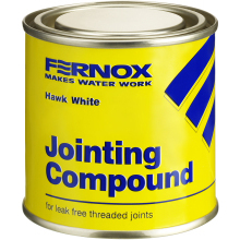 Fernox 400g Hawk White GP Pipe Jointing Compound