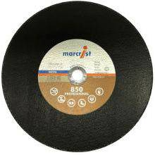 Flat Metal Chop Saw Cutting Disc 850 350x2.8x25.4mm
