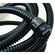 Flex-It A40/10M 40MM PVC Spiral Reinforced Conduit Black - 10 Metre Length