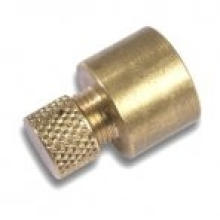 Flow Endfeed Air Vent Cap 15mm Copper