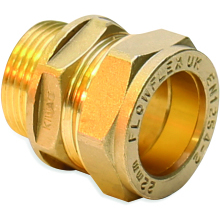 Flowflex Compression Coupler CxMI 15x3/8