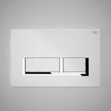 Flush Plate White Rectangular Push Plates CP