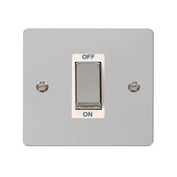 Click FPCH500WH Ingot 1 Gang 45A DP Switch