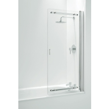 Frameless Sliding Bathscreen 1065mm Chrome