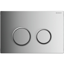Geberit Sigma20 Gloss/Matt Chrome Flush Plate