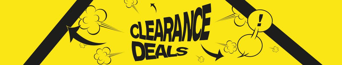 Clearance Landing Page Web Banner Desktop