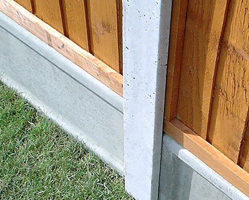 Fence Gravel Boards, Panel Clips Post Supports Box Image