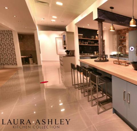 Laura Ashley showroom box image