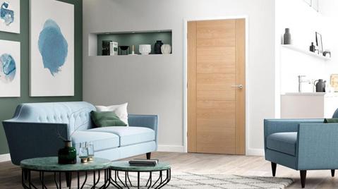 oak door box image