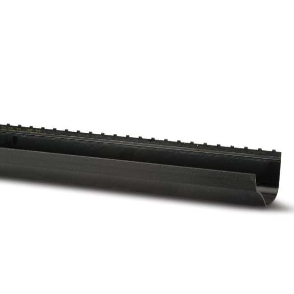 Gutter 2m Black 130mm