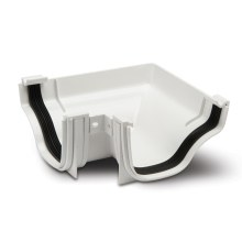 Gutter External Angles 90 White 130mm