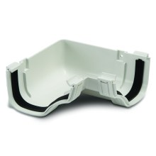 Gutter Internal Angles 90 White 130mm