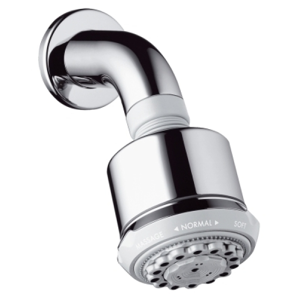 Hansgrohe Clubmaster Overhead Shower With Shower Arm