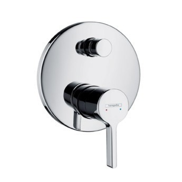 Hansgrohe Hansgrohe Metris S Single Lever Bath Mixer for Concealed Installation