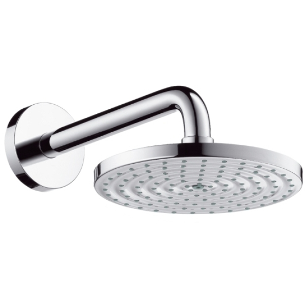 Hansgrohe Raindance Air Overhead Shower 180mm With Short Shower Arm