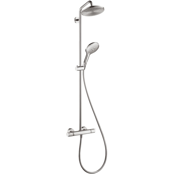 hansgrohe raindance select showerpipe 240mm. Black Bedroom Furniture Sets. Home Design Ideas