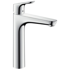 Hansgrohe Single Lever Basin Mixer 190 Without Pull Rod/Pop Up Waste