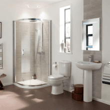 Harmony Focus Bathroom Suite 2TH Basin 600-2005