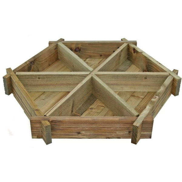 Herb Wheel Planter 155x1040x950mm