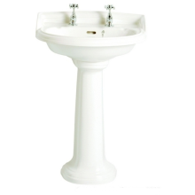 Heritage Dorchester Medium Basin White