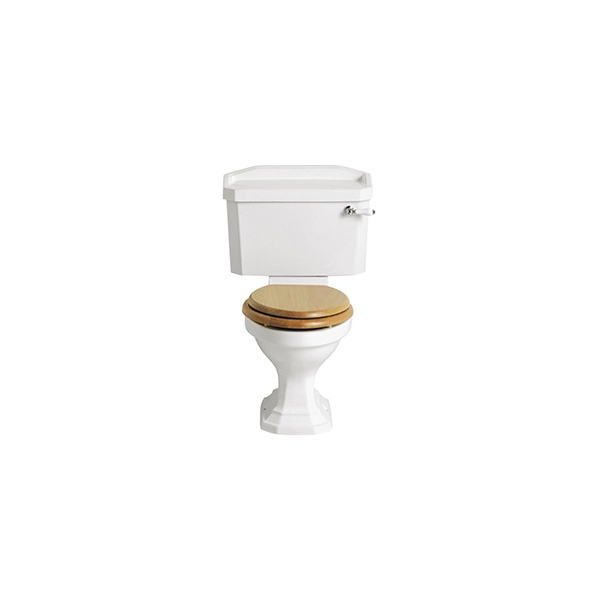 Heritage Granley Close-Coupled WC White Pan Close Coupled