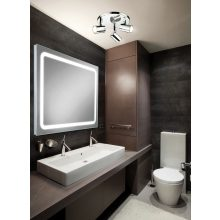 HIB Scarlet LED Back-Lit Mirror