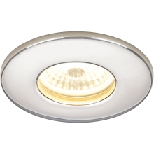 HIB White Fire Rated Cool White LED Showerlight